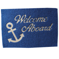 "Måtte lalizas ""welcome on board"" blå 40x60cm"
