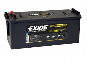 Exide batteri nautilus 120ah. gel equipment