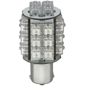 Led pære bay15d highpower 28led 12v 10w hvid