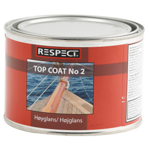 Respect top coat no2  1/2 ltr.