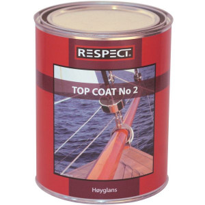 Respect top coat no2  1 ltr.