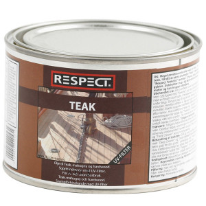 Respect teakolie med uv filter   0.5ltr