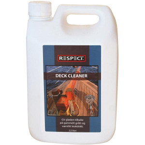 Respect deck cleaner 2,5 liter